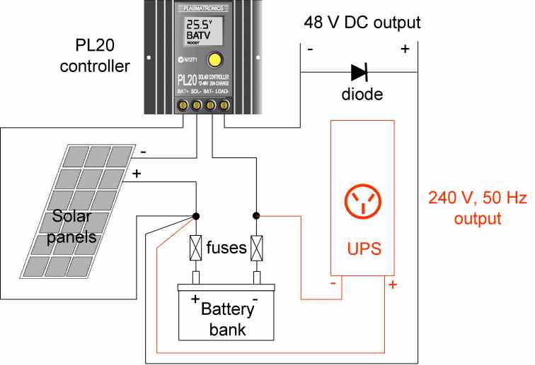 on lead acid battery charger